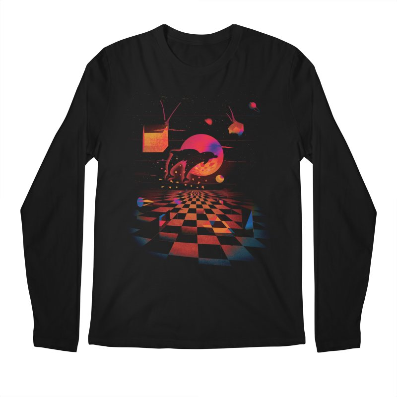 Kepler 307 - Midnight Edition Men's Regular Longsleeve T-Shirt by Dega Studios
