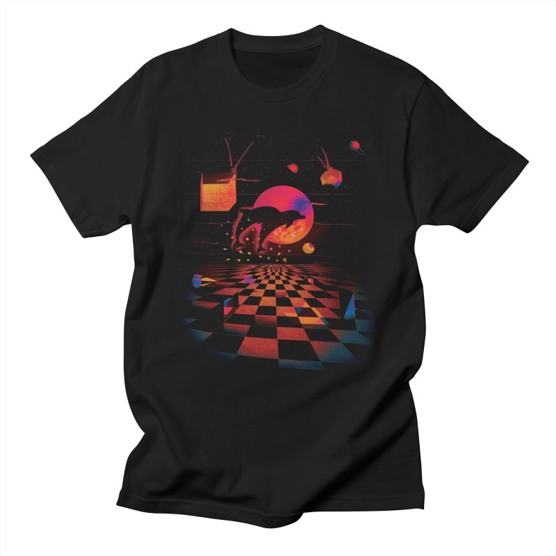 Kepler 307 - Midnight Edition Men's T-Shirt by Dega Studios