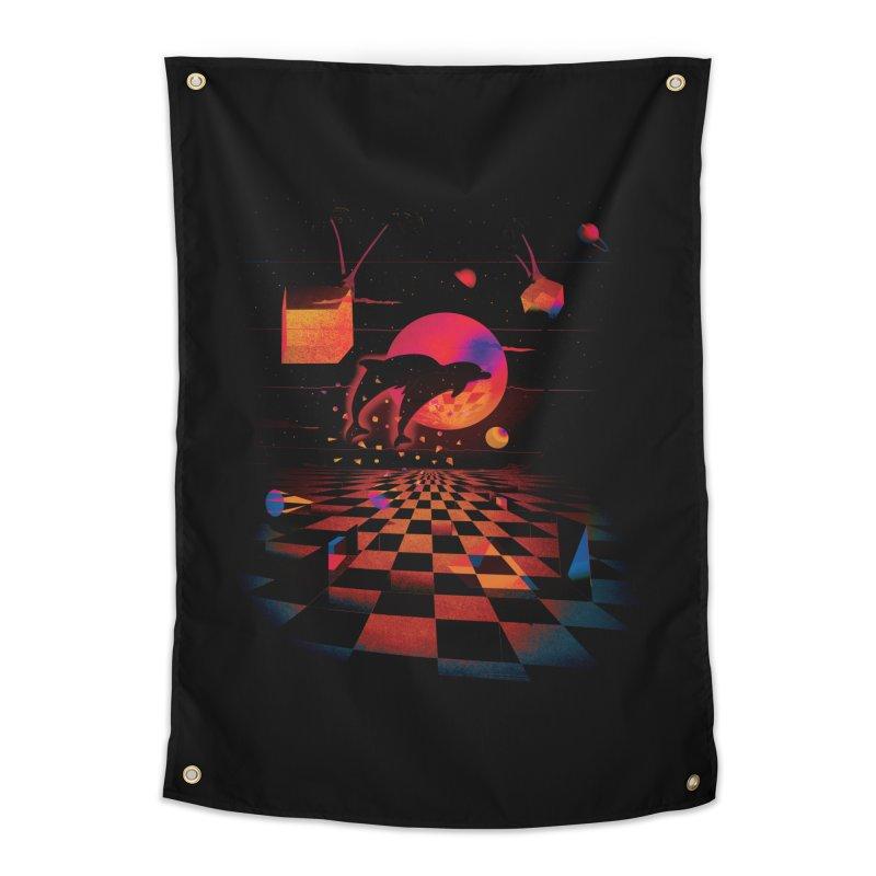 Kepler 307 - Midnight Edition Home Tapestry by Dega Studios