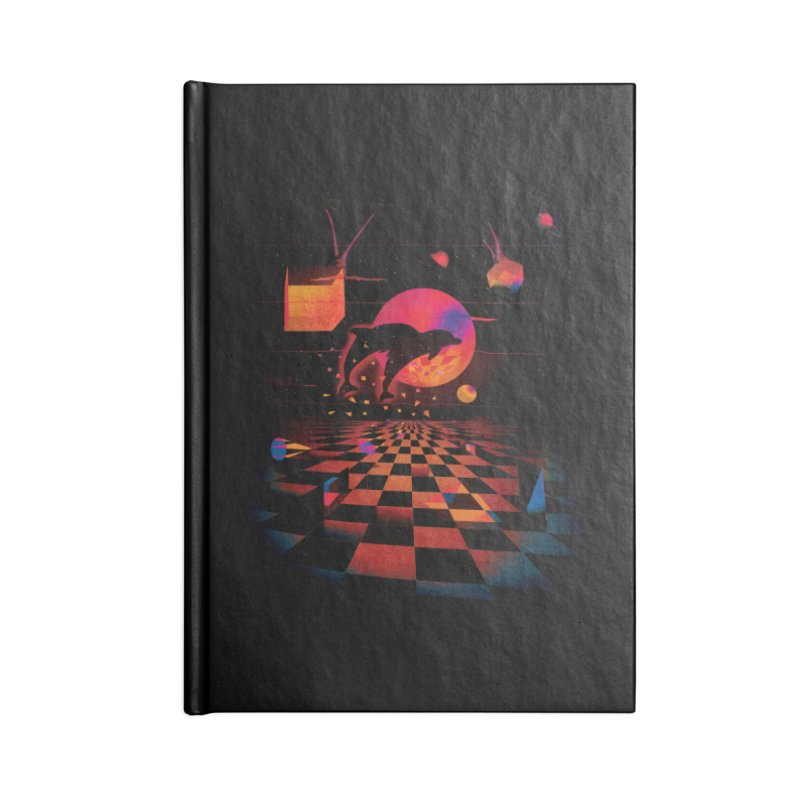 Kepler 307 - Midnight Edition Accessories Lined Journal Notebook by Dega Studios