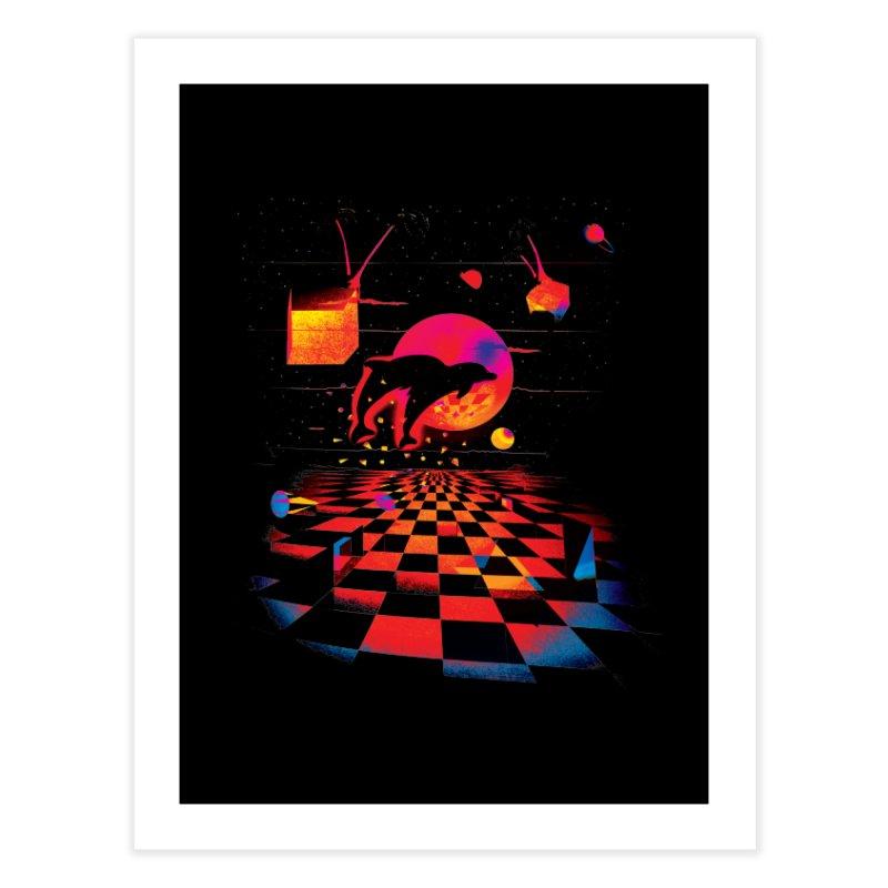 Kepler 307 - Midnight Edition Home Fine Art Print by Dega Studios