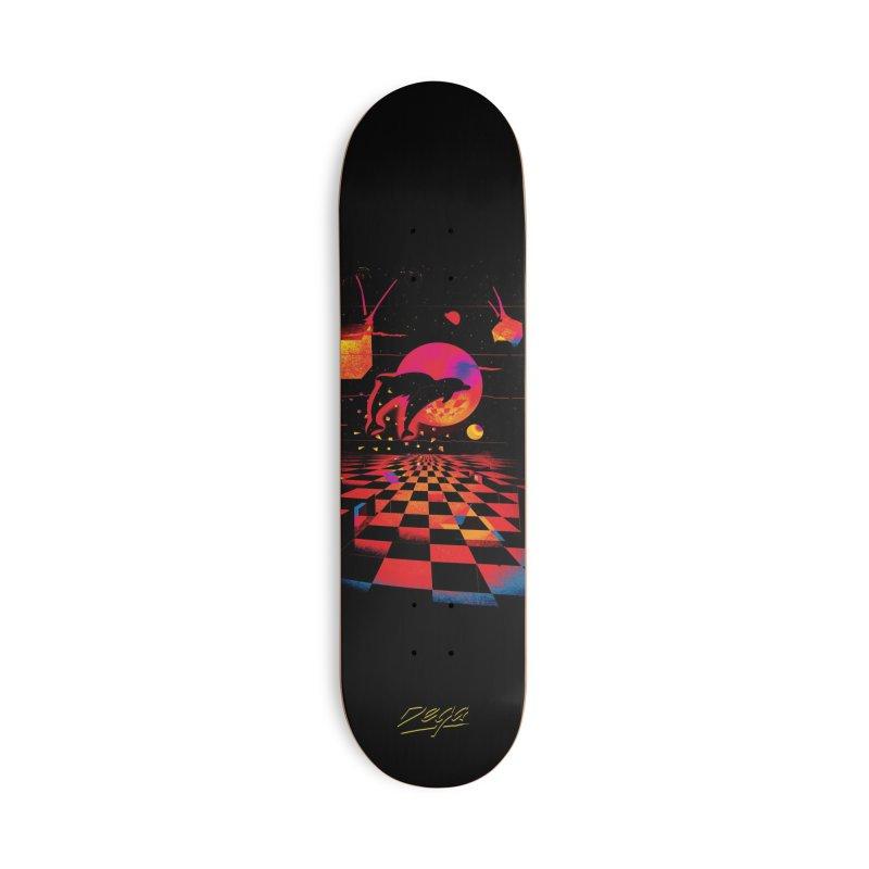 Kepler 307 - Midnight Edition Accessories Skateboard by Dega Studios