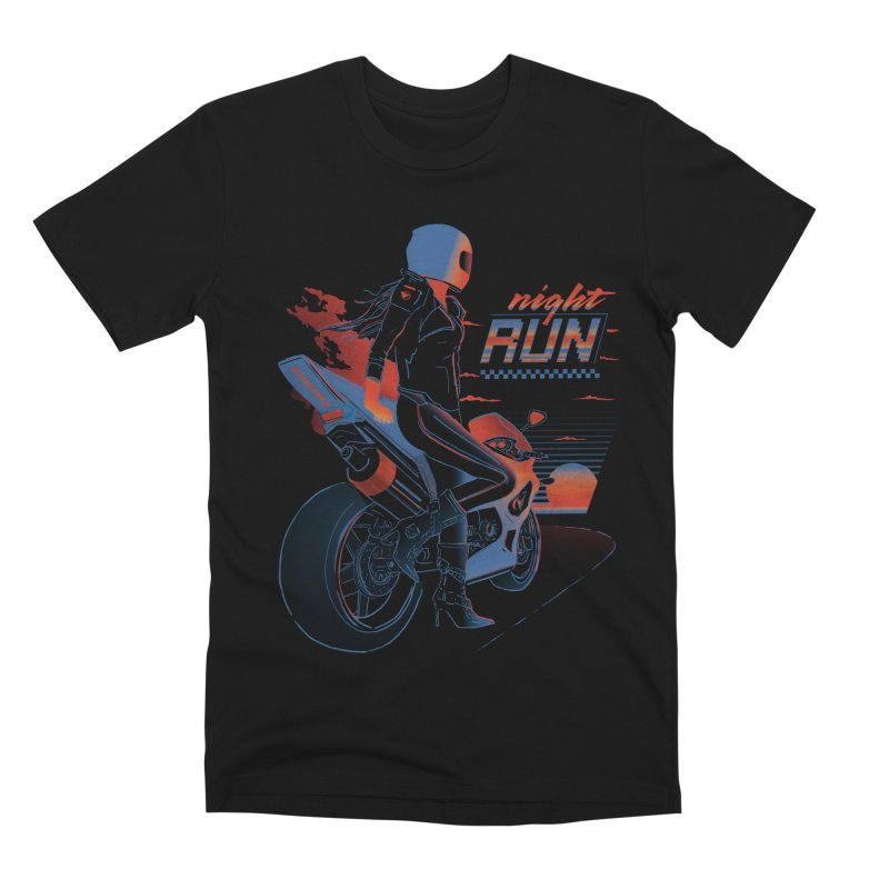 Night Run Men's Premium T-Shirt by Dega Studios