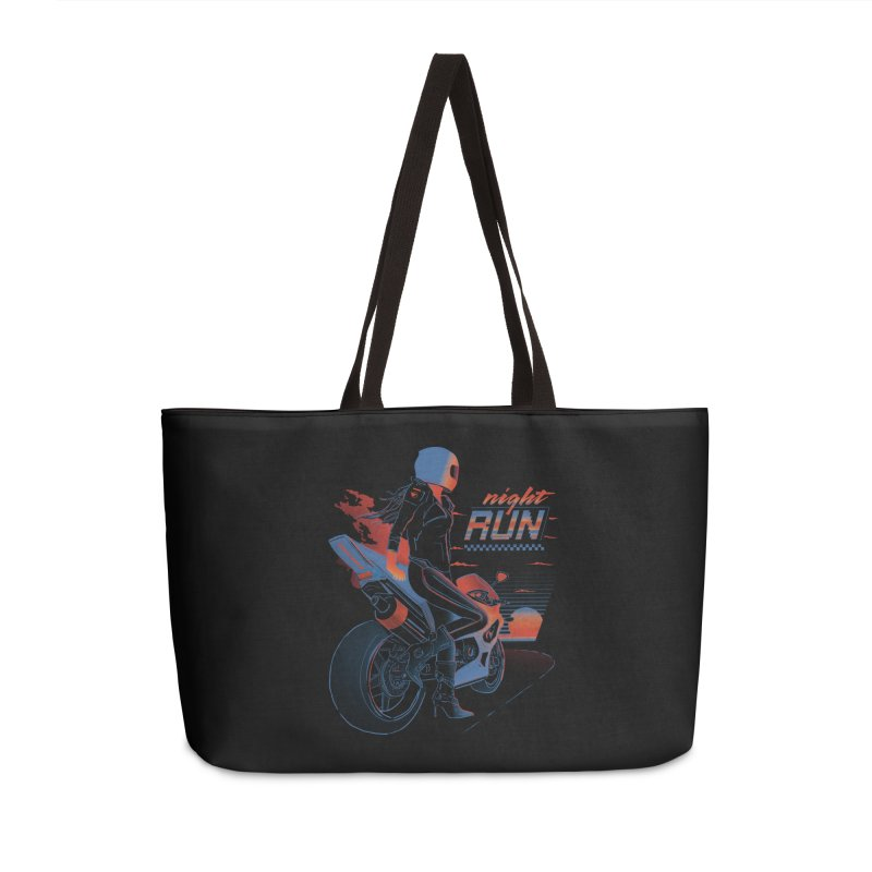 Night Run Accessories Bag by Dega Studios