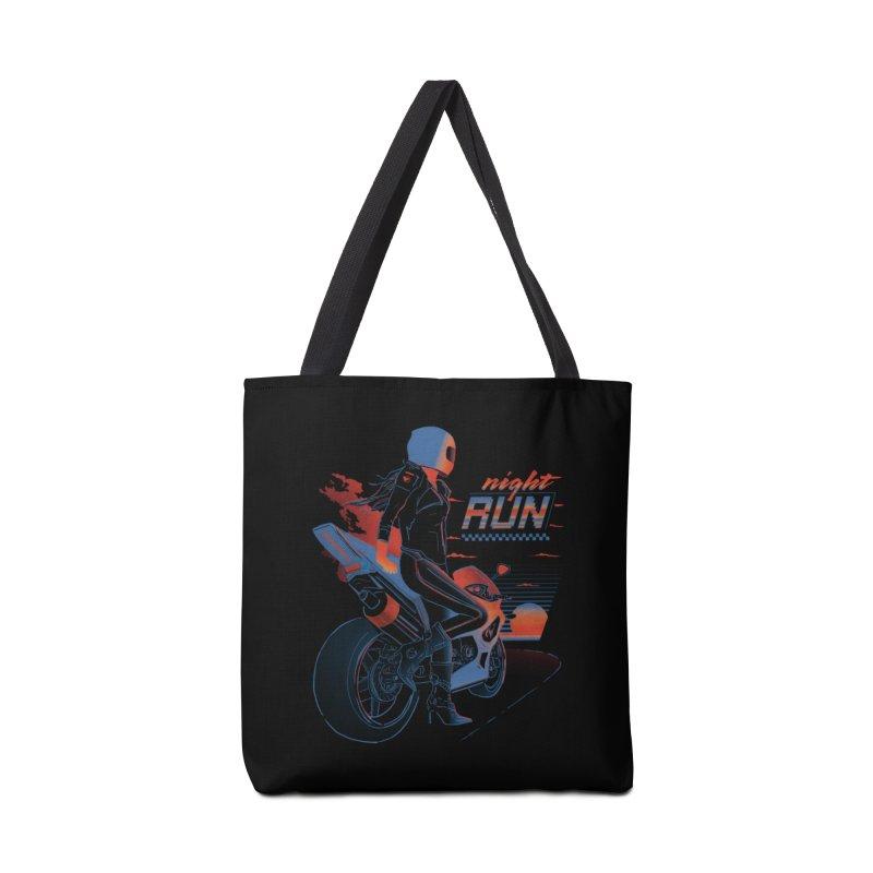 Night Run Accessories Bag by Dega Studios