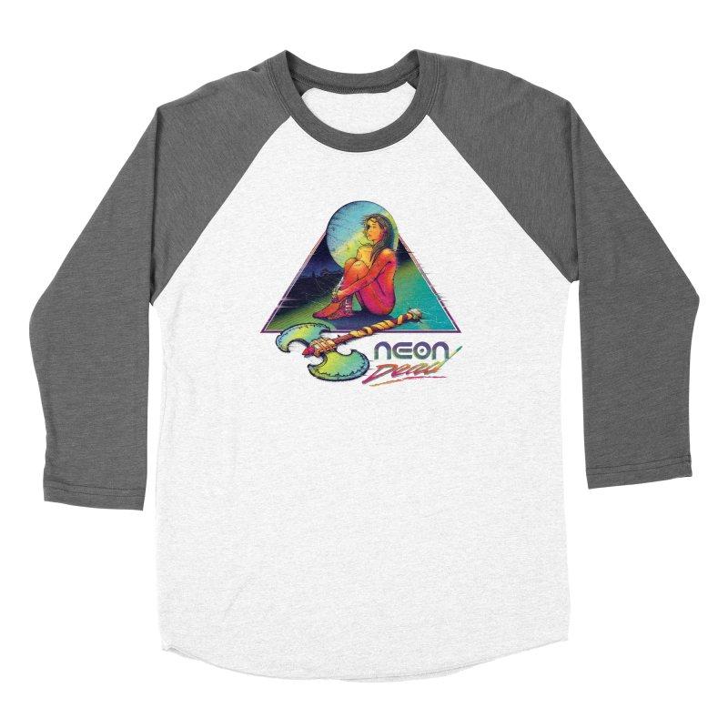 Neon Dead Women's Baseball Triblend Longsleeve T-Shirt by Dega Studios