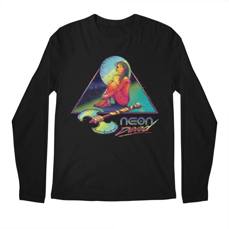 Neon Dead Men's Longsleeve T-Shirt by Dega Studios