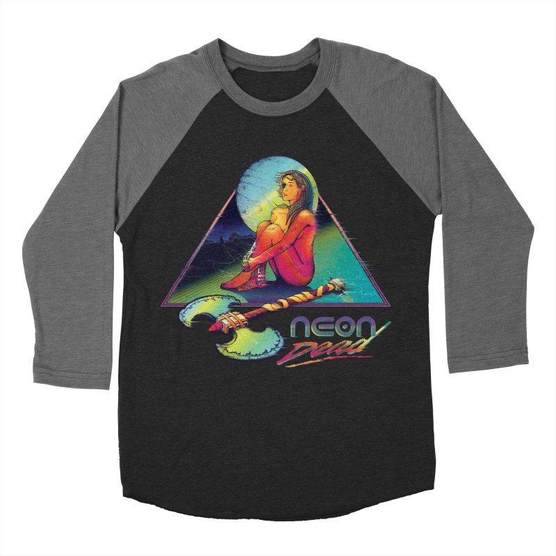 Neon Dead Men's Baseball Triblend Longsleeve T-Shirt by Dega Studios