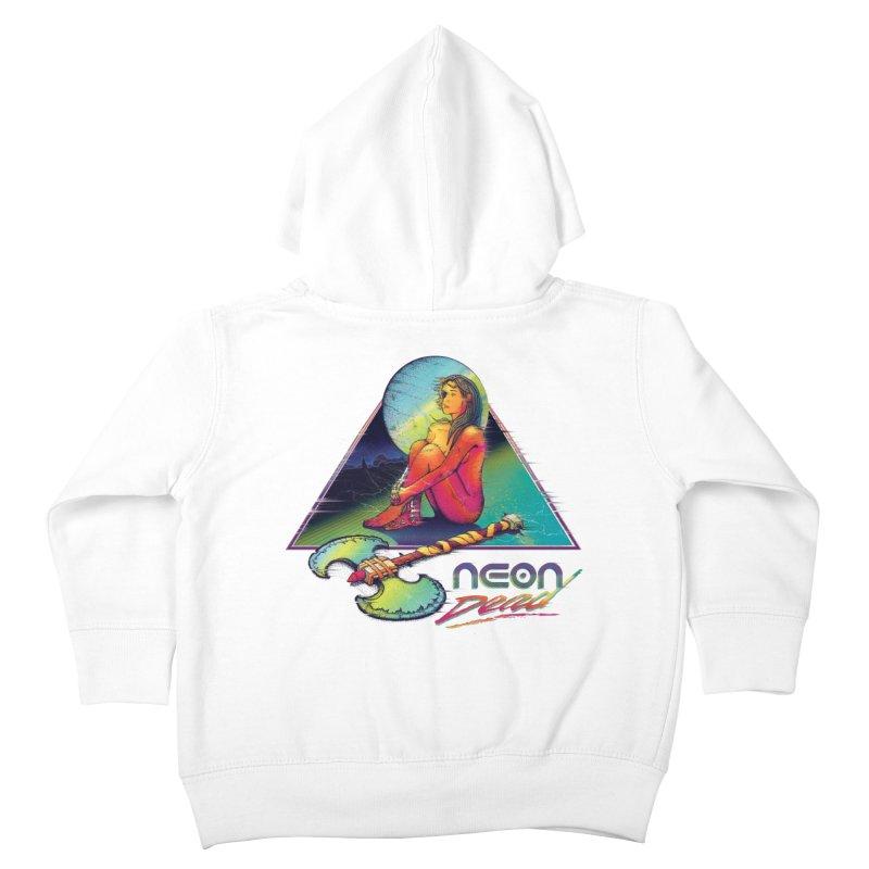 Neon Dead Kids Toddler Zip-Up Hoody by Dega Studios