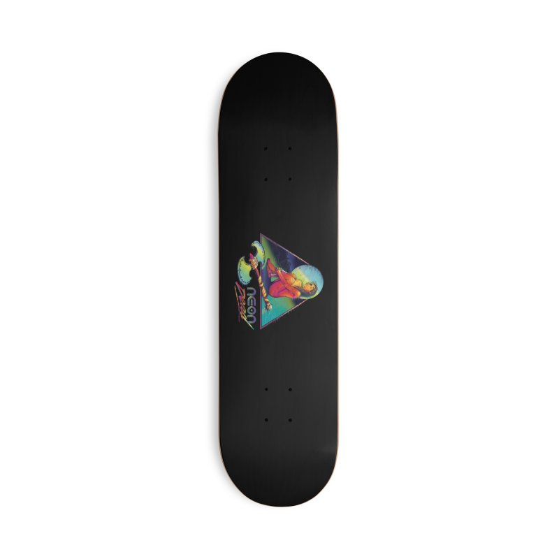 Neon Dead Accessories Deck Only Skateboard by Dega Studios