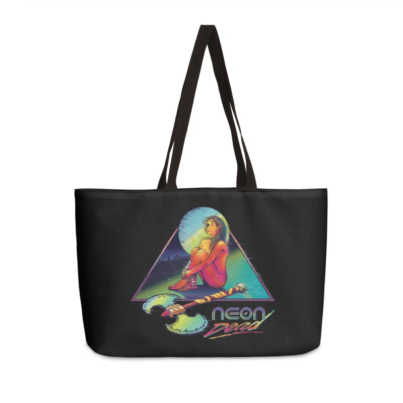 Neon Dead Accessories Bag by Dega Studios