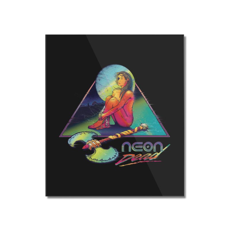 Neon Dead Home Mounted Acrylic Print by Dega Studios