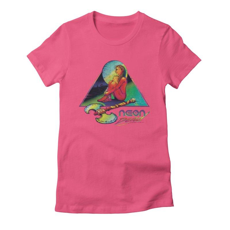 Neon Dead Women's T-Shirt by Dega Studios