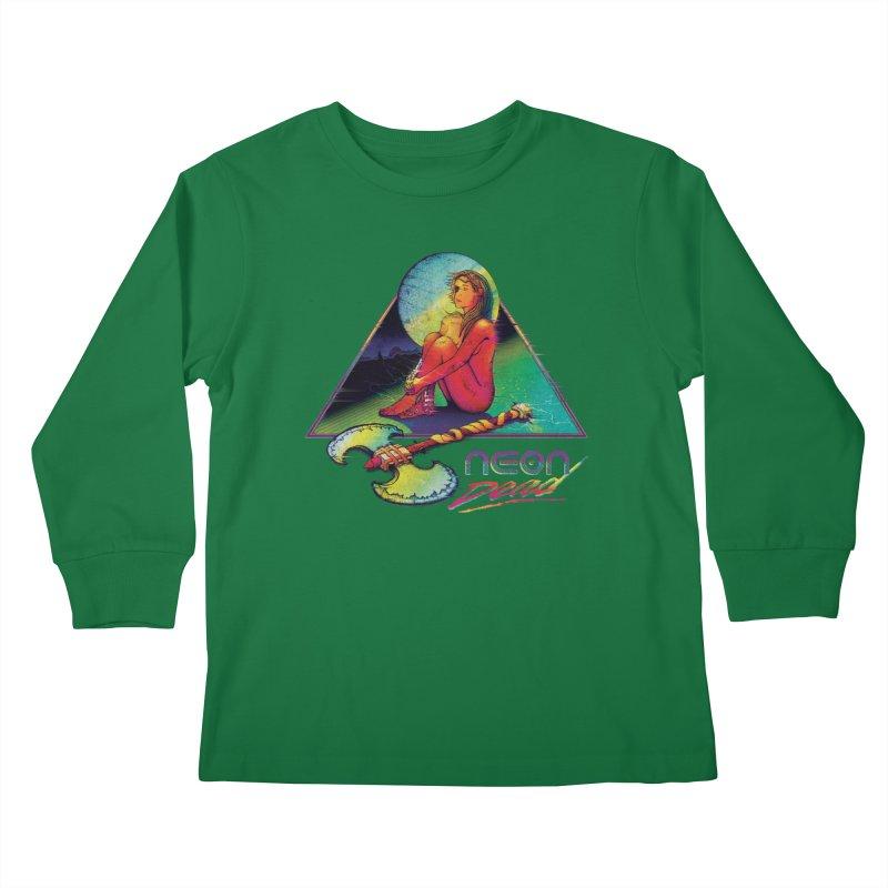 Neon Dead Kids Longsleeve T-Shirt by Dega Studios