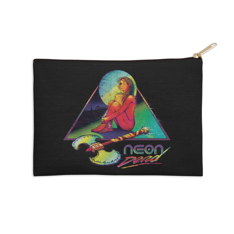 Neon Dead Accessories Zip Pouch by Dega Studios
