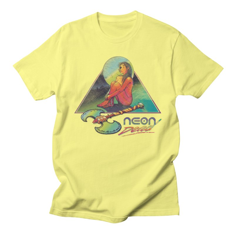 Neon Dead Men's T-shirt by Dega Studios