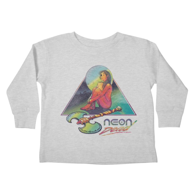 Neon Dead Kids Toddler Longsleeve T-Shirt by Dega Studios