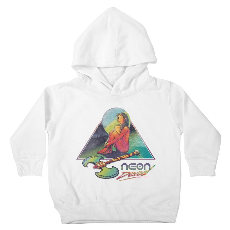 Neon Dead Kids Toddler Pullover Hoody by Dega Studios