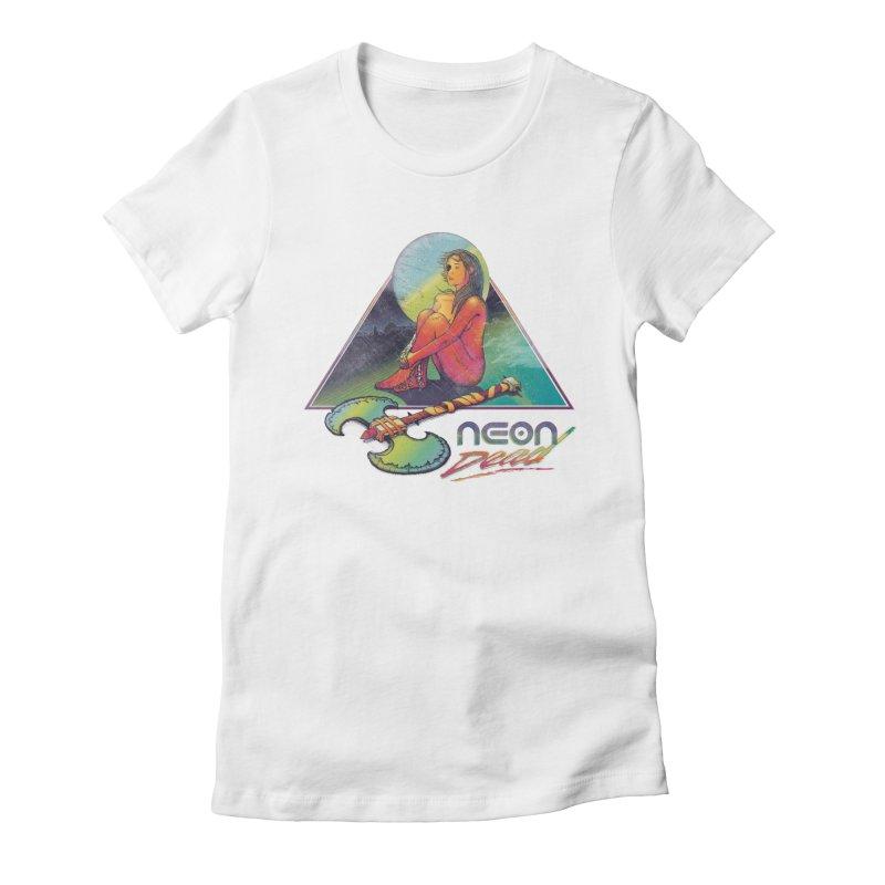 Neon Dead Women's Fitted T-Shirt by Dega Studios