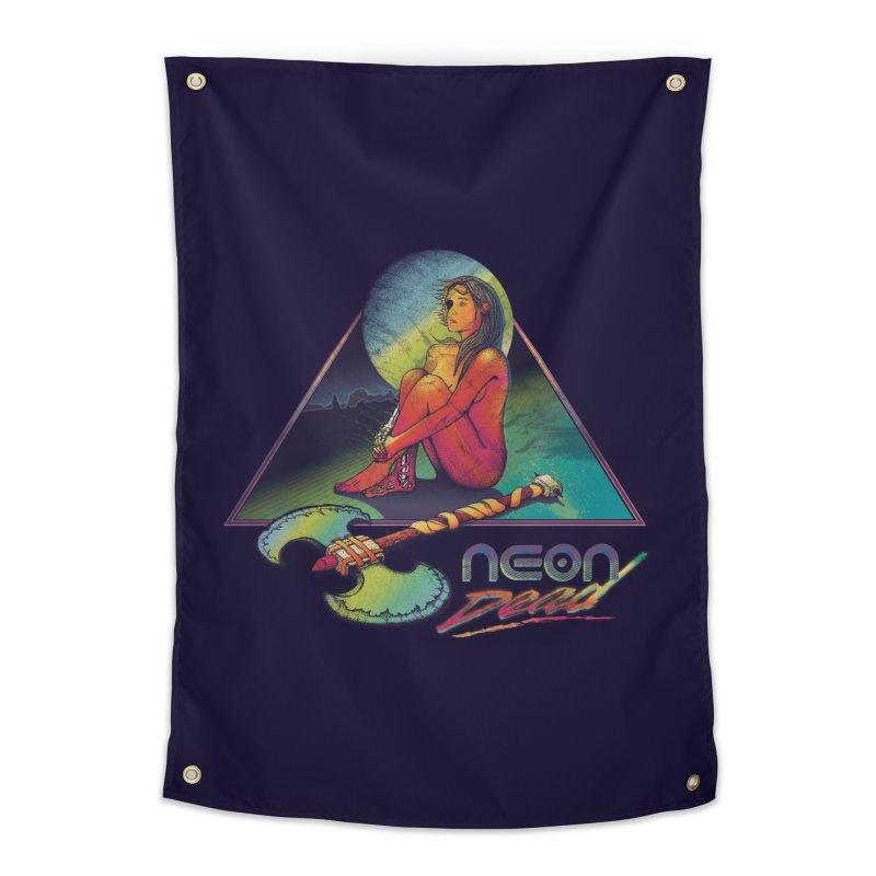Neon Dead Home Tapestry by Dega Studios