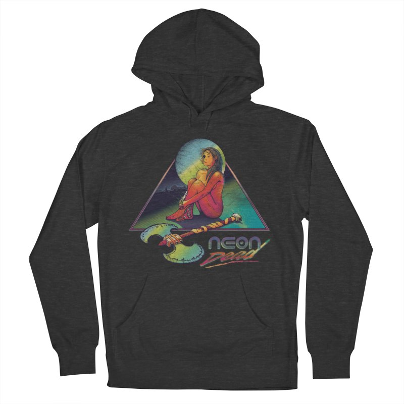 Neon Dead Women's French Terry Pullover Hoody by Dega Studios