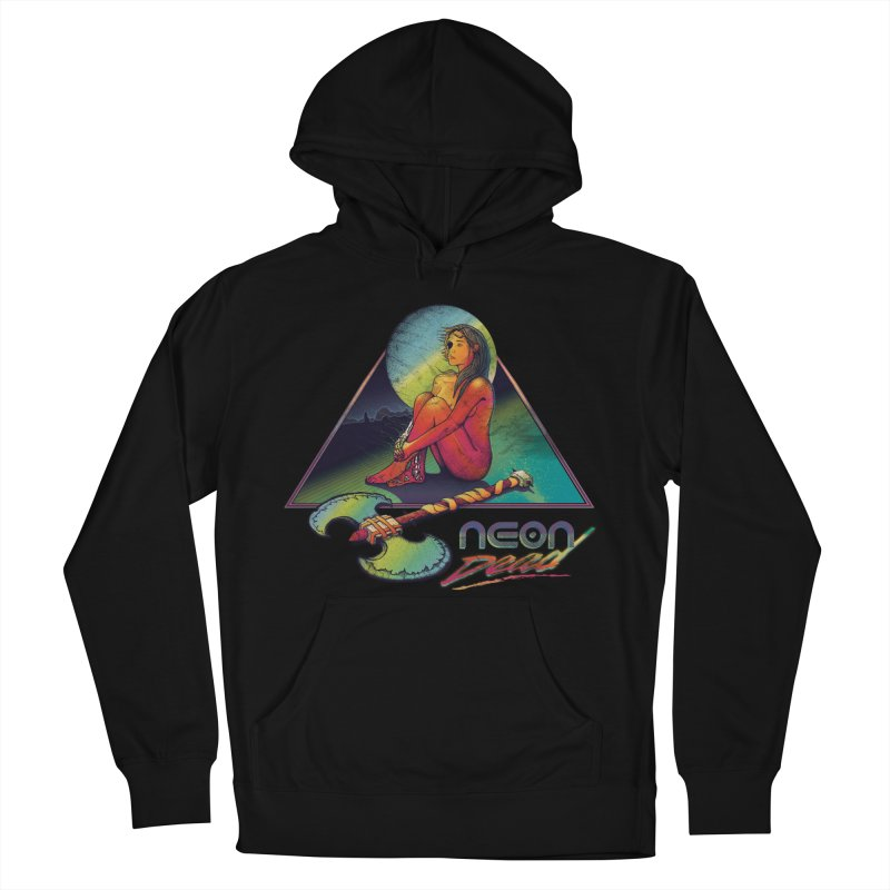Neon Dead Men's French Terry Pullover Hoody by Dega Studios
