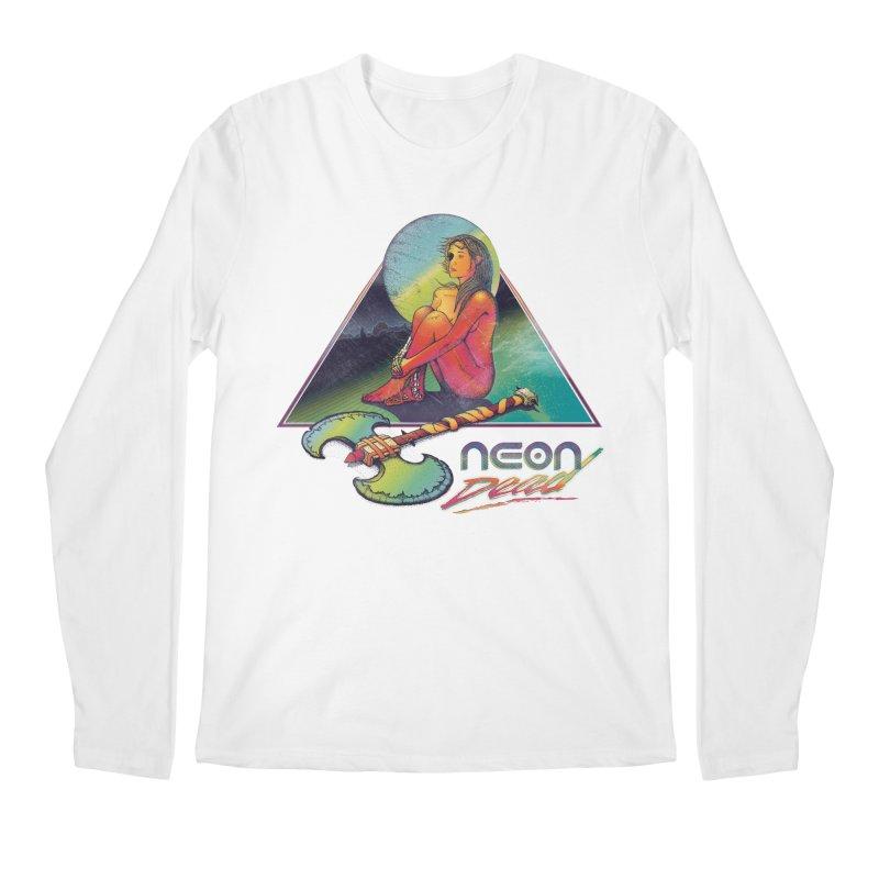 Neon Dead Men's Regular Longsleeve T-Shirt by Dega Studios