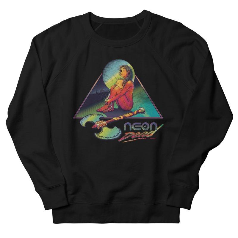 Neon Dead Women's French Terry Sweatshirt by Dega Studios