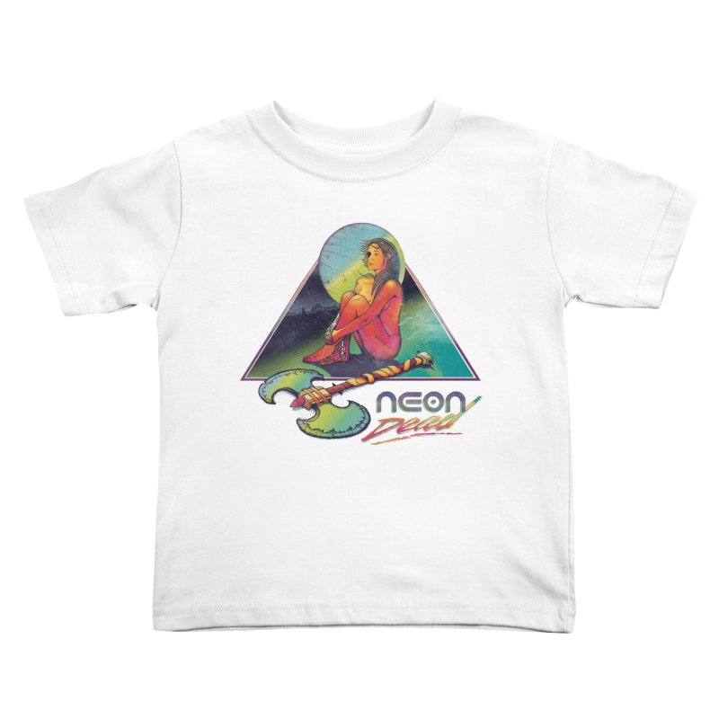 Neon Dead Kids Toddler T-Shirt by Dega Studios