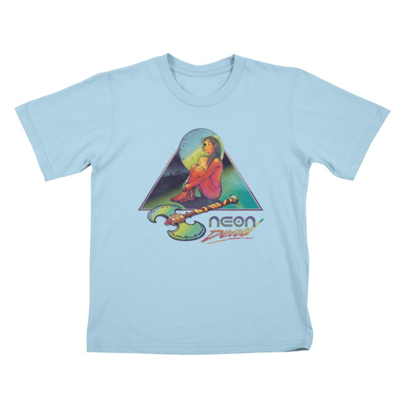 Neon Dead Kids T-Shirt by Dega Studios