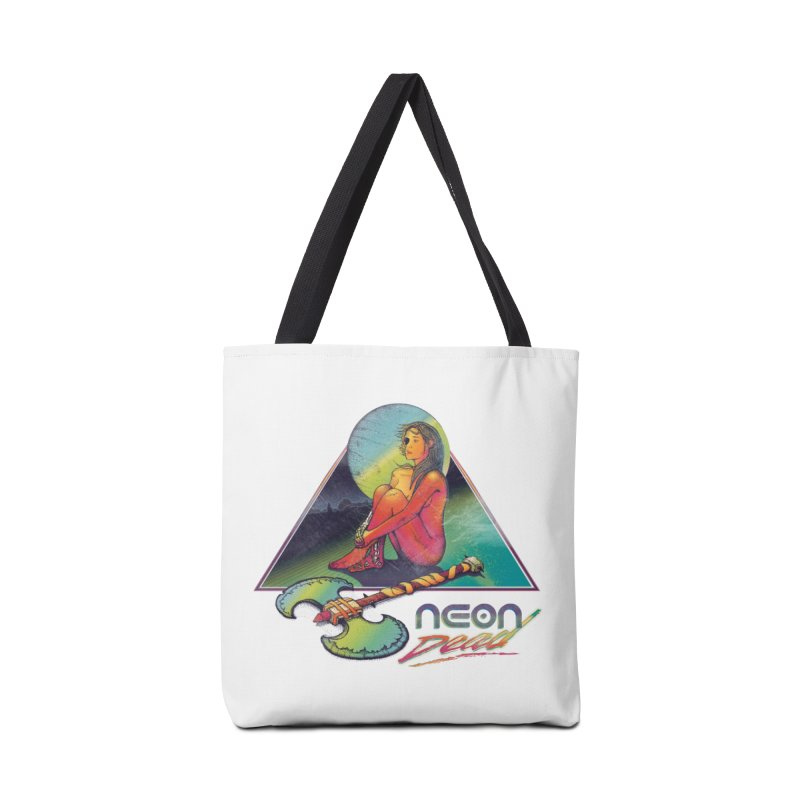 Neon Dead Accessories Bag by Dega Studios