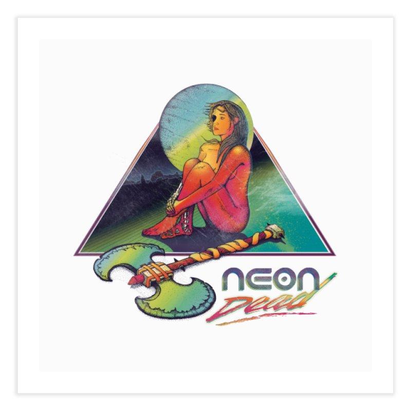 Neon Dead Home Fine Art Print by Dega Studios