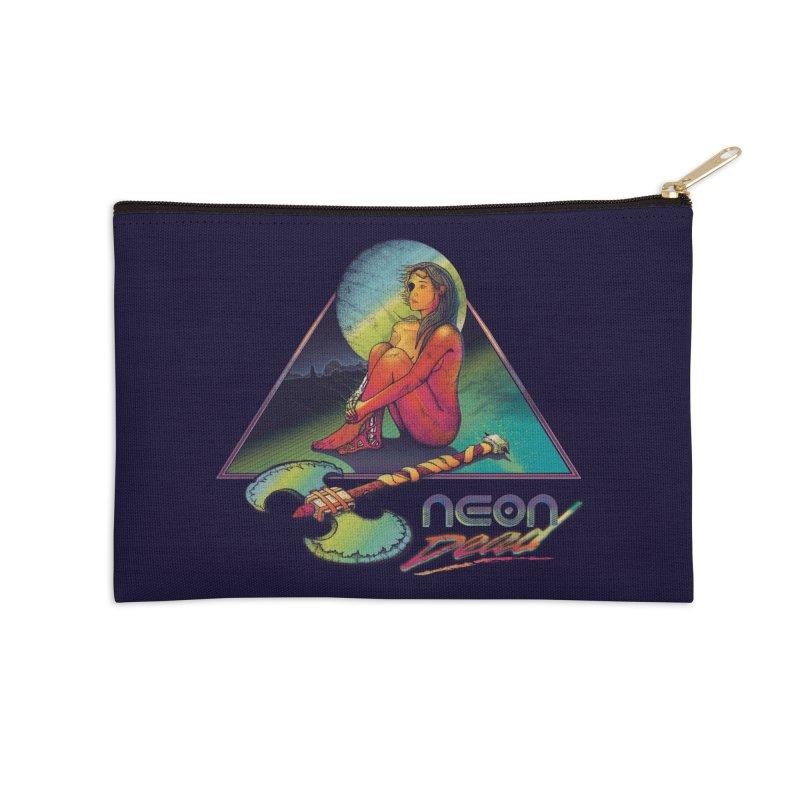 Neon Dead Accessories Zip Pouch by Dega Studios