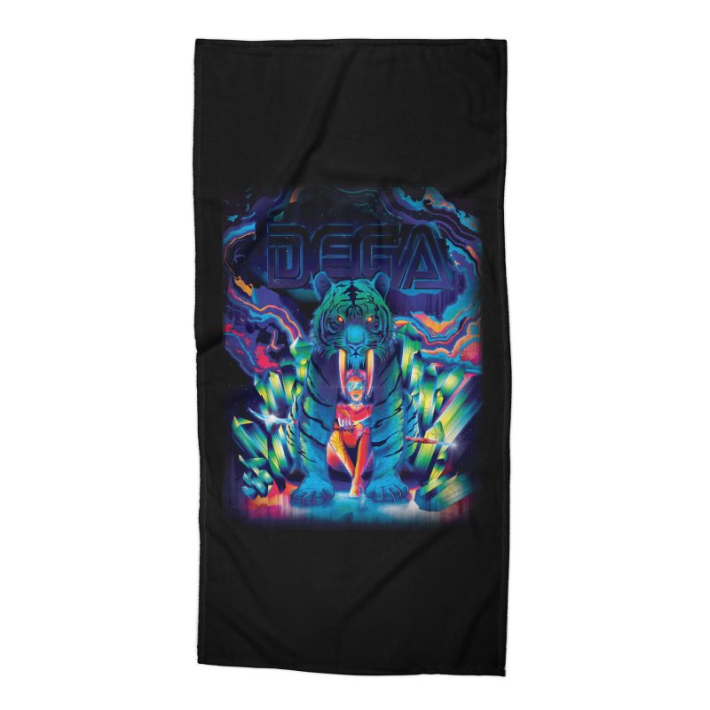Dega Fatalis Accessories Beach Towel by Dega Studios