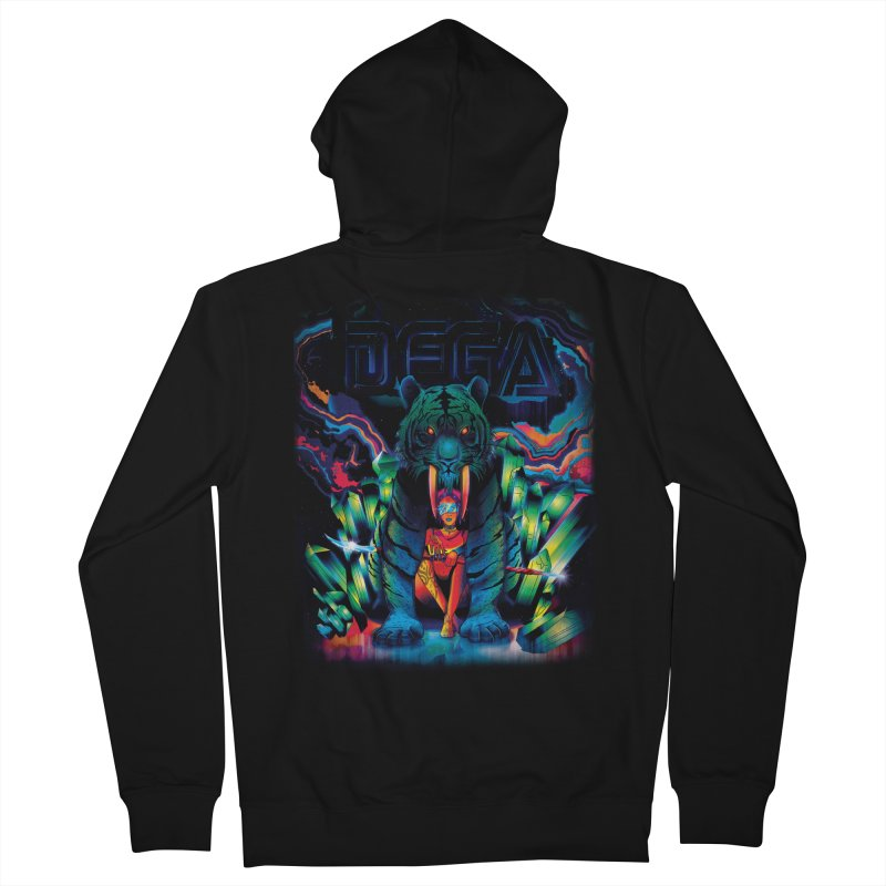 Dega Fatalis Men's Zip-Up Hoody by Dega Studios