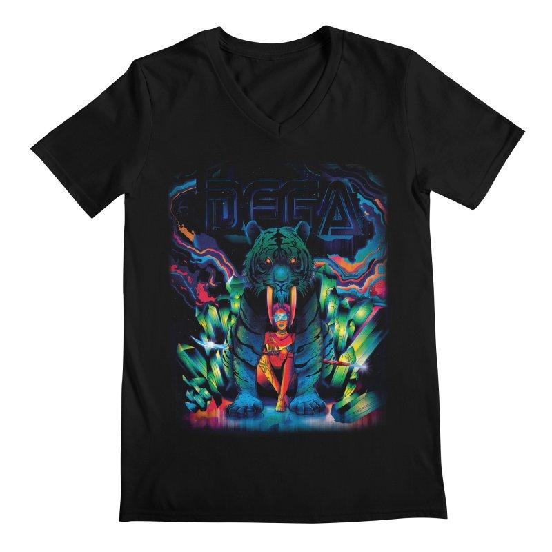 Dega Fatalis Men's Regular V-Neck by Dega Studios