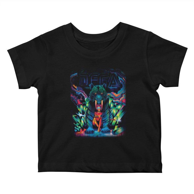 Dega Fatalis Kids Baby T-Shirt by Dega Studios