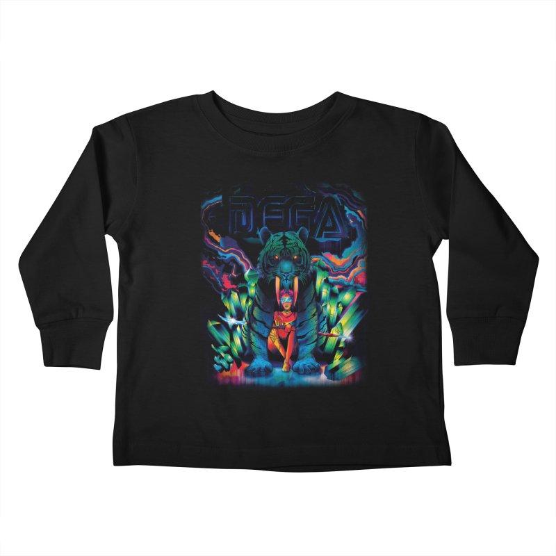 Dega Fatalis Kids Toddler Longsleeve T-Shirt by Dega Studios