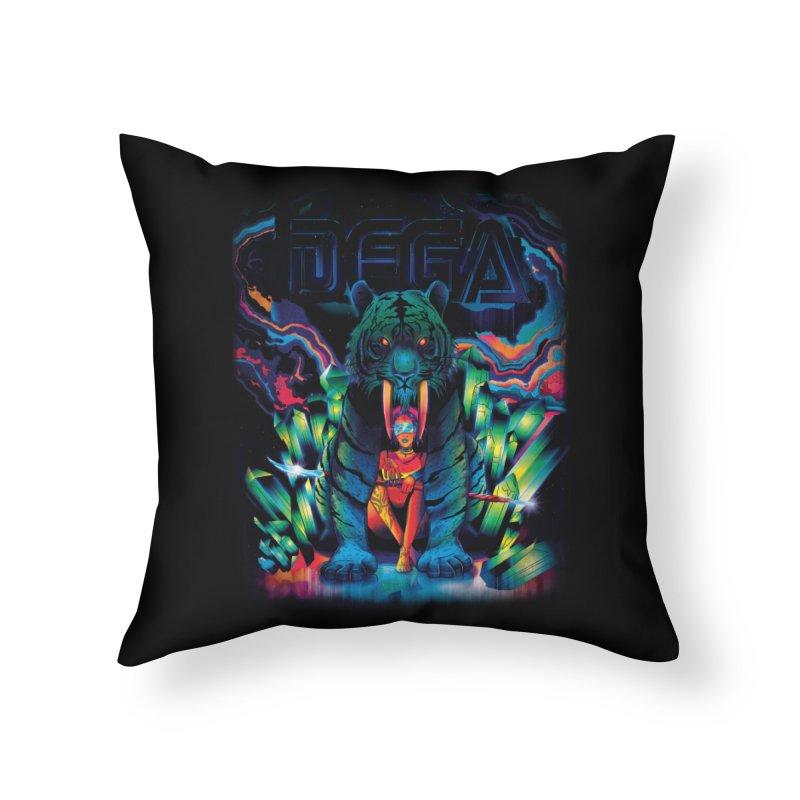 Dega Fatalis Home Throw Pillow by Dega Studios