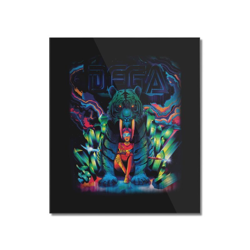 Dega Fatalis Home Mounted Acrylic Print by Dega Studios