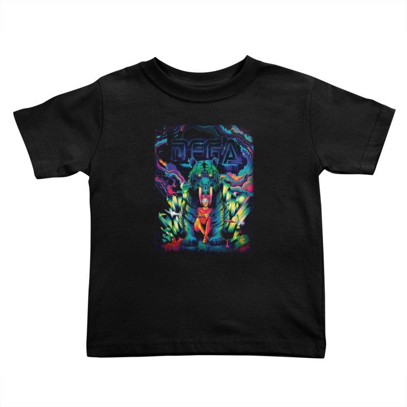 Dega Fatalis Kids Toddler T-Shirt by Dega Studios
