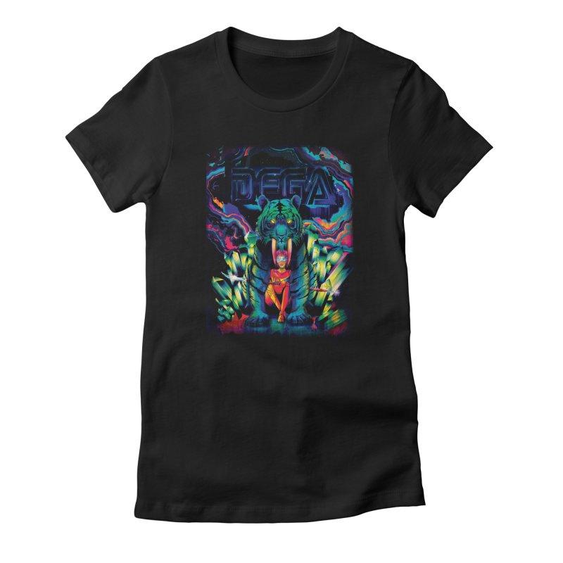 Dega Fatalis Women's Fitted T-Shirt by Dega Studios