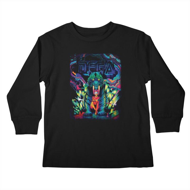 Dega Fatalis Kids Longsleeve T-Shirt by Dega Studios