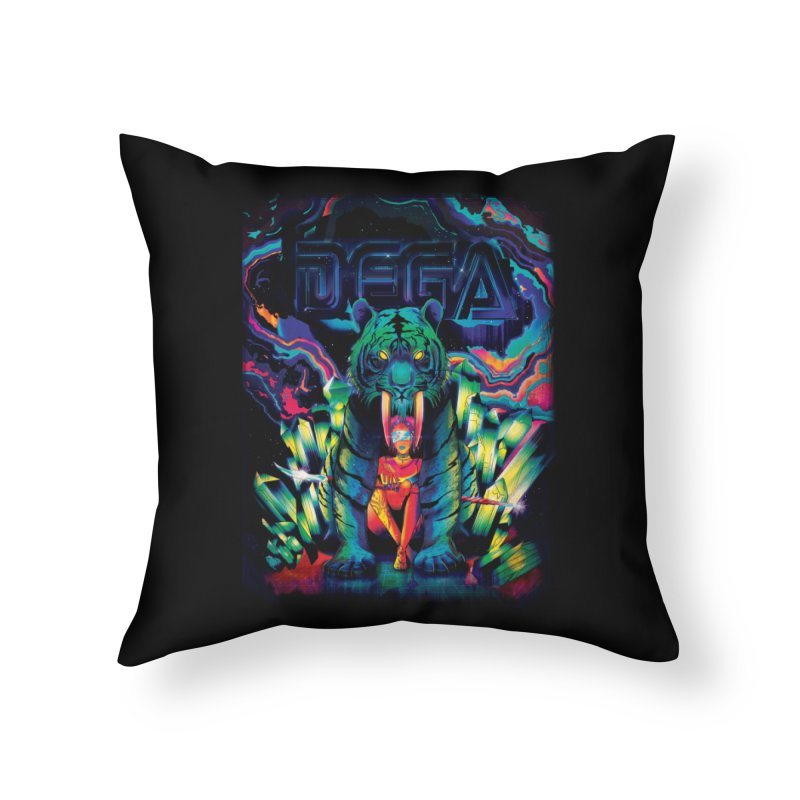 Dega Fatalis Home Throw Pillow by Dega Studios