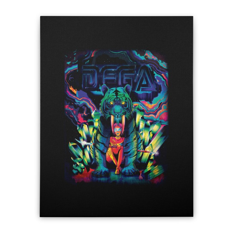 Dega Fatalis Home Stretched Canvas by Dega Studios