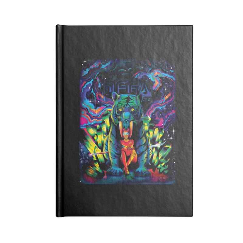 Dega Fatalis Accessories Lined Journal Notebook by Dega Studios