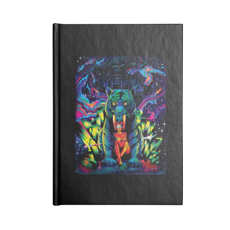 Dega Fatalis Accessories Blank Journal Notebook by Dega Studios