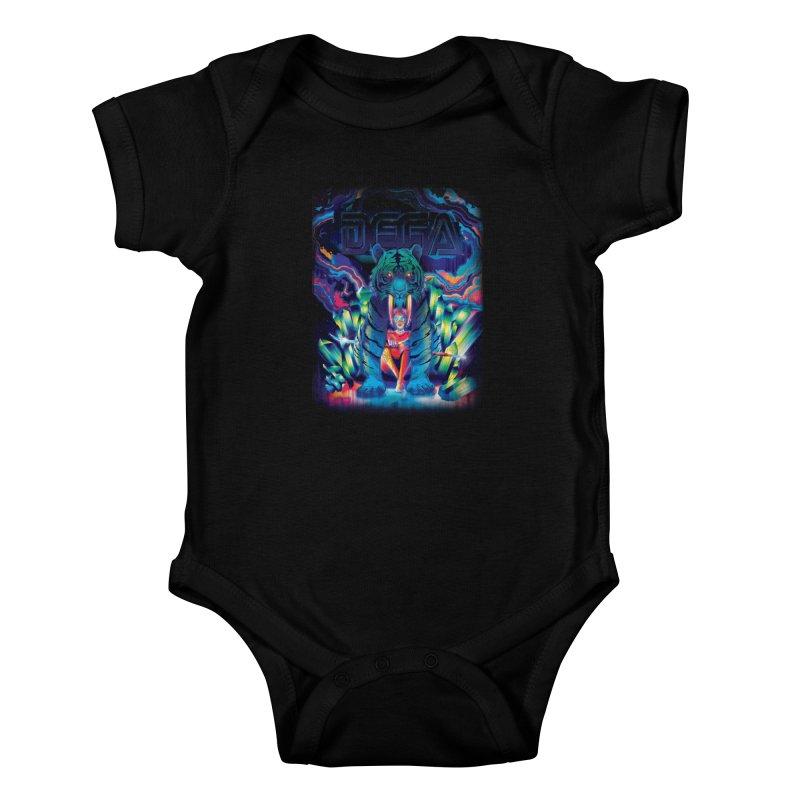 Dega Fatalis Kids Baby Bodysuit by Dega Studios