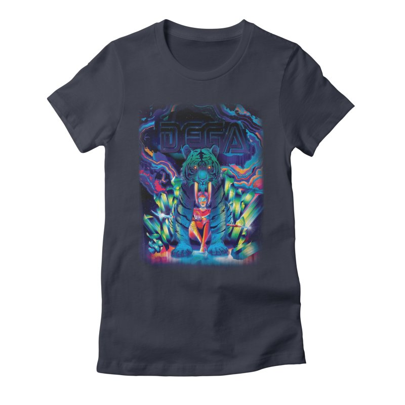 Dega Fatalis Women's Fitted T-Shirt by Dega Studios