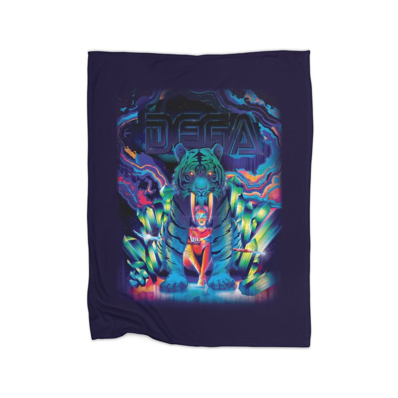 Dega Fatalis Home Fleece Blanket by Dega Studios